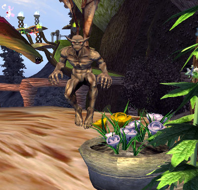 Combined hobbies: 3d-modeled Crocus in a fantasy game setting
