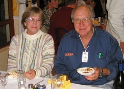 Rhoda and Cameron McMaster, Bob Rutemoeller photo