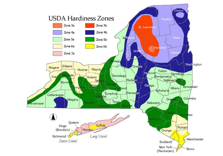 Pacific Bulb Society  Hardiness Zone Maps